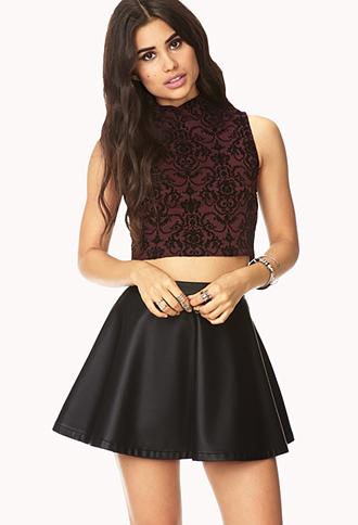 Cool-Girl Skater Skirt | FOREVER21 - 2000128006