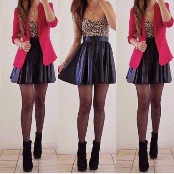 dress д coat shoes