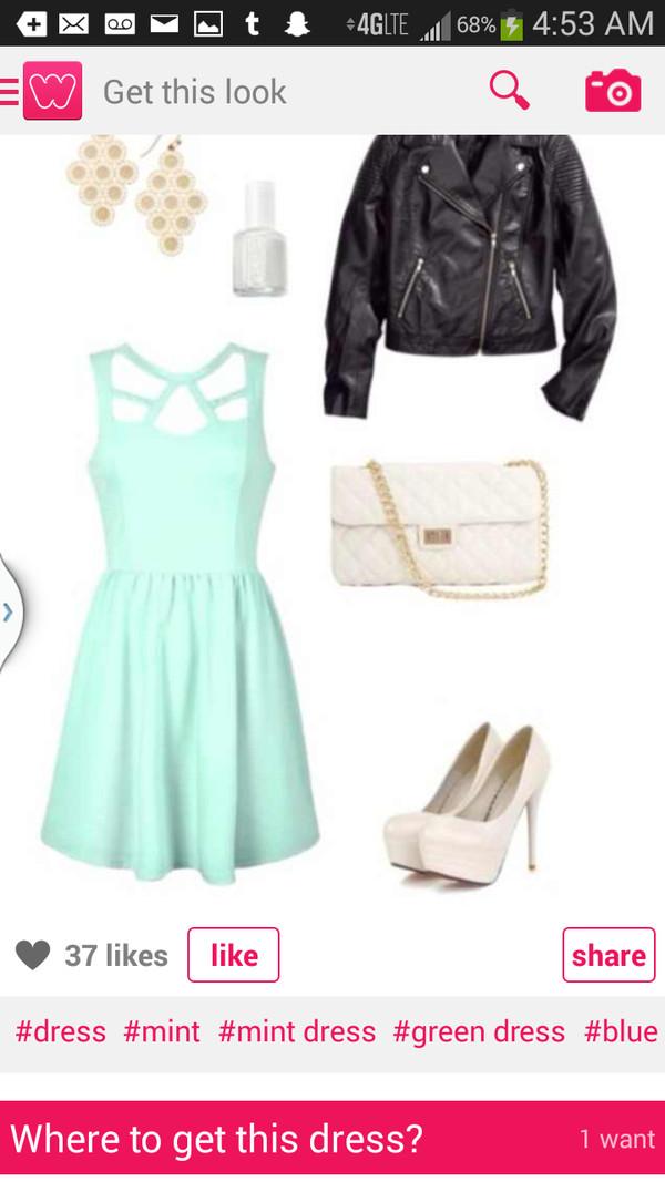 dress mint dress mint short dress