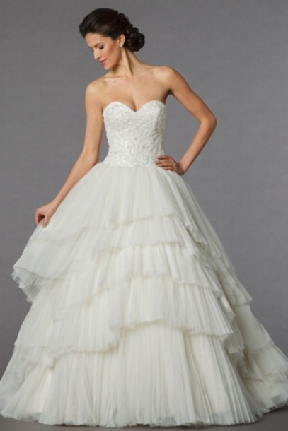 dress wedding tulle skirt vintage ivory vintage dress gown wedding dress ball gown dress