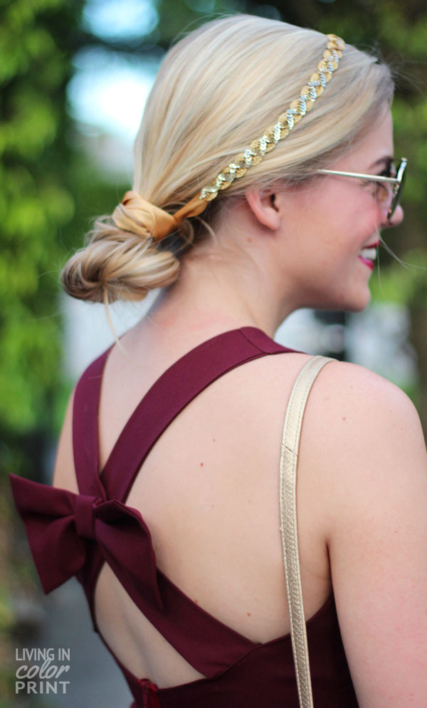 Seminole Style Part IV: Bow Back Dress | Living In Color Print
