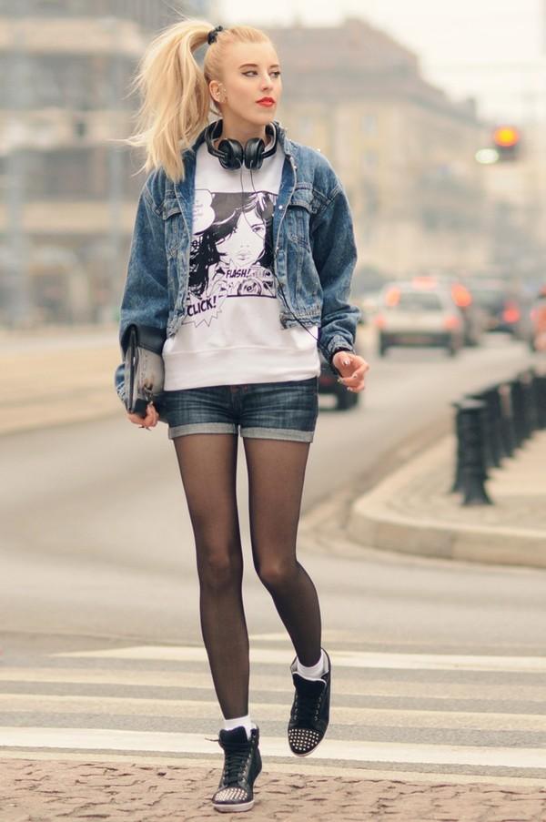 meri wild blouse jacket shorts bag jewels shoes