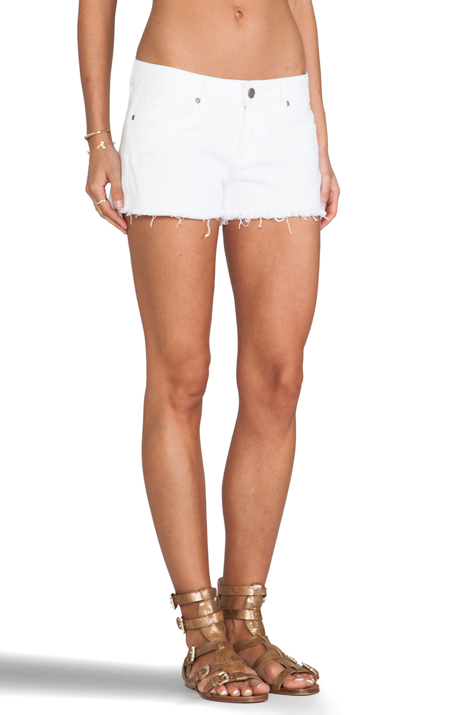 Paige Denim Catalina Short in Optic White | REVOLVE
