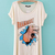Loose Short Sleeve Casual Common T-Shirt : KissChic.com