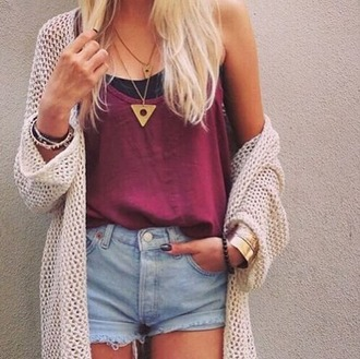 shirt red tumblr outfit tumblr shirt love cute urban urban outfitters original hipster cardigan jewels