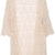 ROMWE | ROMWE Lace Crochet Apricot Short-sleeved Cardigan, The Latest Street Fashion