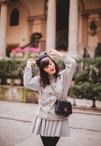 wish wish wish hat sweater skirt shoes bag