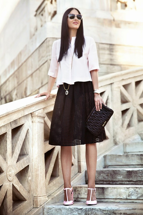 serial klother skirt bag shoes sunglasses