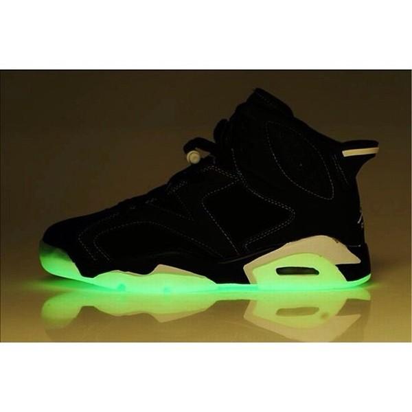 shoes black black shoes jordans lighting