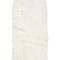 Ruffle detail front slit skirt by oscar de la renta   moda operandi