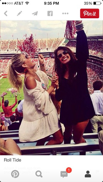little black dress white dress hippie off the shoulder dress bff cheerleading dress