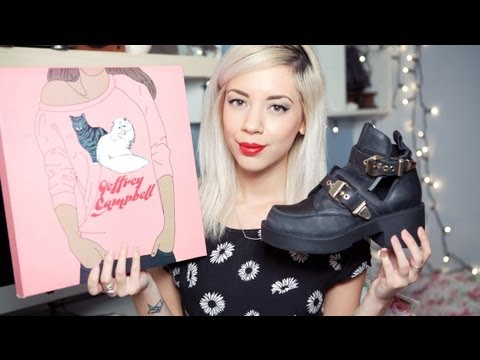 JEFFREY CAMPBELL Coltrane Unboxing & Comparison - YouTube