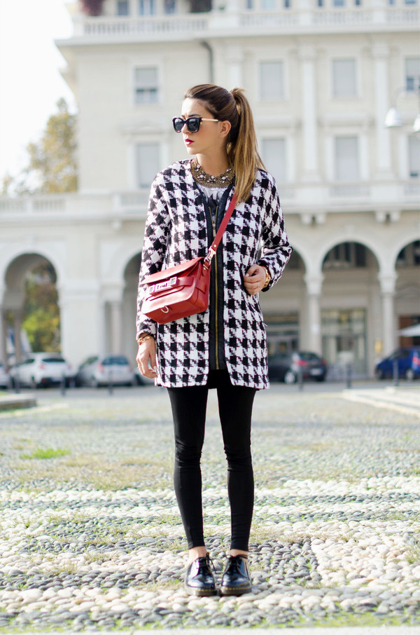 scent of obsession coat pants shoes bag