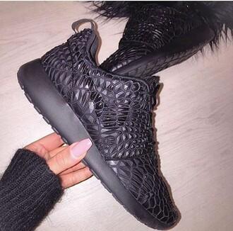 shoes nike black mosaic