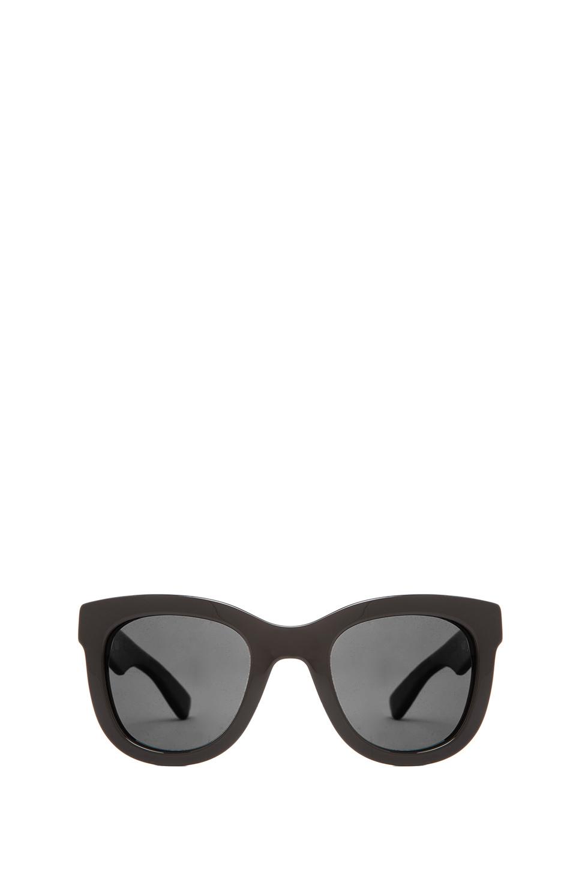 ANINE BING New York Sunglasses in Black | REVOLVE
