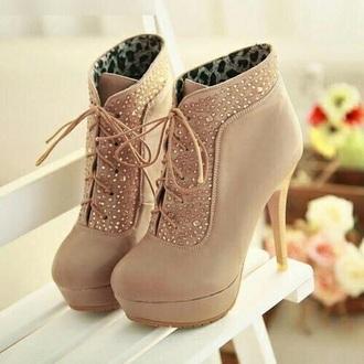 shoes heels laced studs print leopard print diamonds
