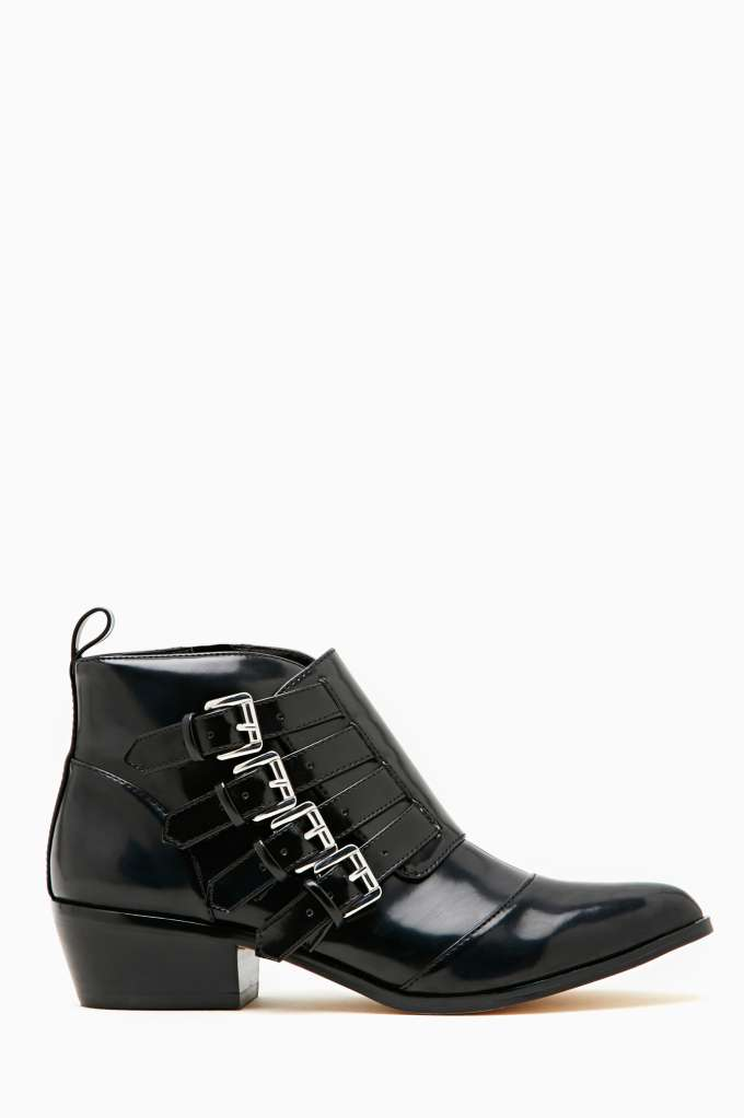 Shoe Cult Conjurer Ankle Boot - Black in  Shoes Sale at Nasty Gal