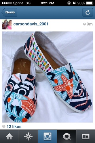 shoes toms lilly pulitzer