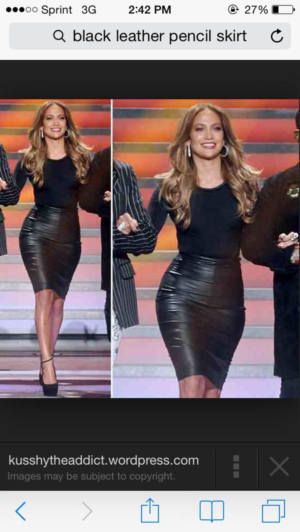 skirt leather skirt leather black skirt leather black
