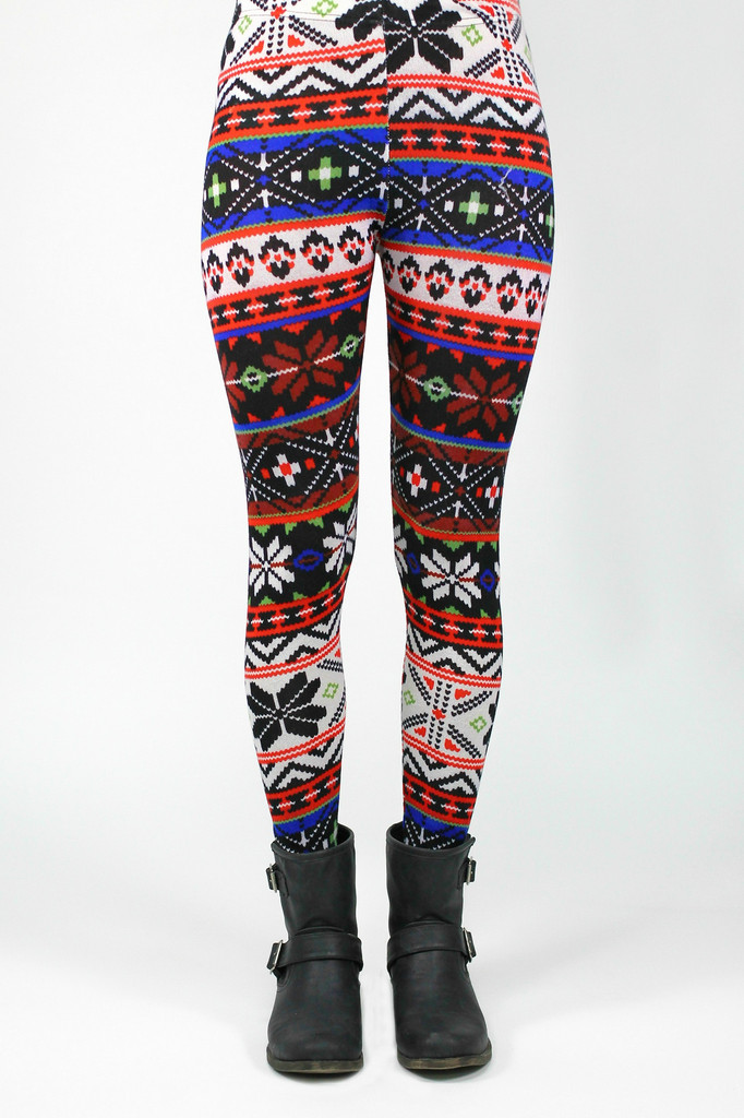 Wild Wind Sweater Leggings - uoionline.com: Women's Clothing Boutique
