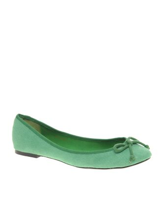 flat green shoes shoes