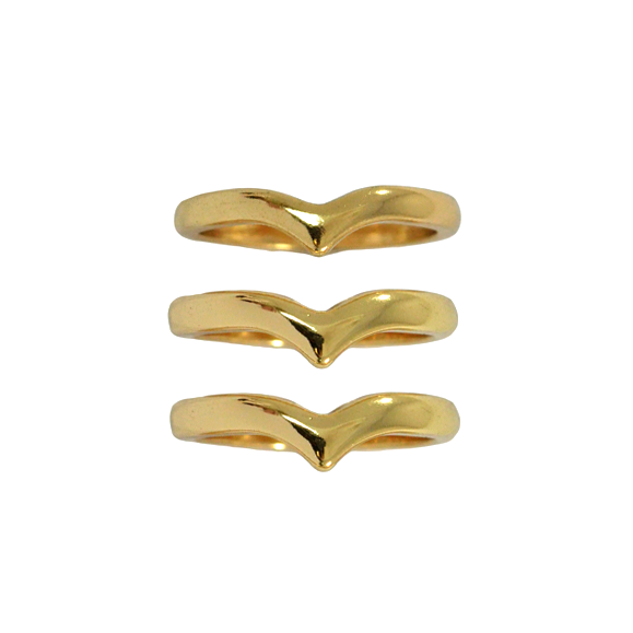 ARROW RING PACK - Rings & Tings | Online fashion store | Shop the latest trends