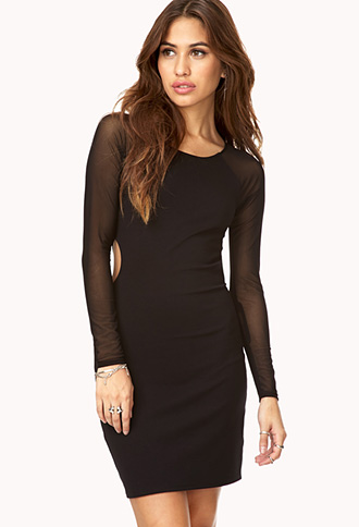 Be Seen Bodycon Dress | FOREVER21 - 2000129203