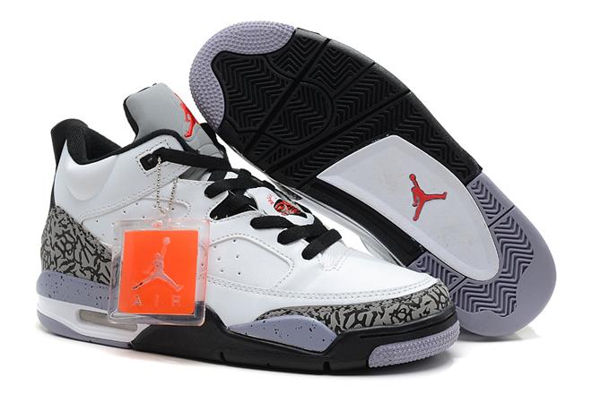 White/Gym Red/Black/Cement Grey-Jordan Son Of Mars Low Mens Shoes(On Feet) -  $103.89 -  Jordan Son of Mars Low Mens Shoes