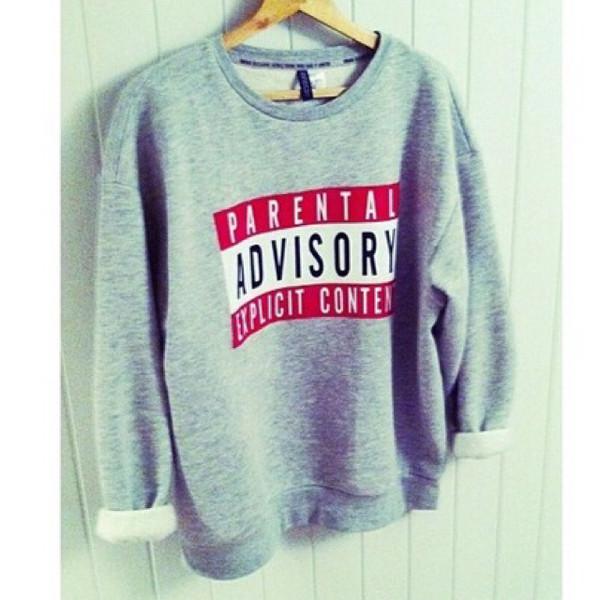sweater parental advisory explicit content