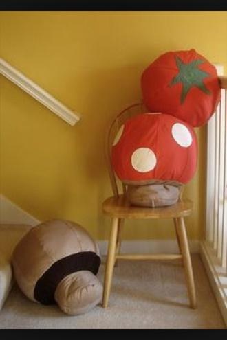 home accessory pillow mushroom