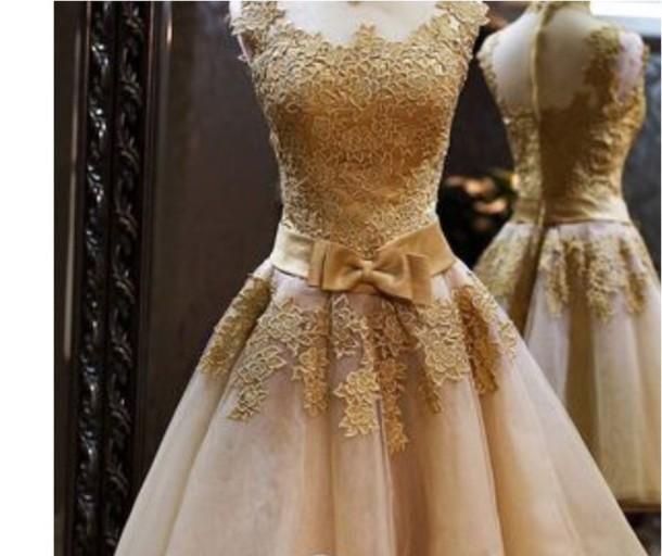 dress prom dress prom dress gold prom dress