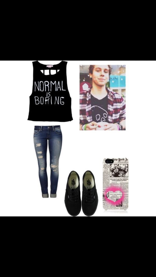 5 seconds of summer normalisboring laceback luke hemmings 5 seconds of summer michaelclifford jeans phone cover