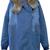 ROMWE | Thicken Fur Winter Denim Coat, The Latest Street Fashion