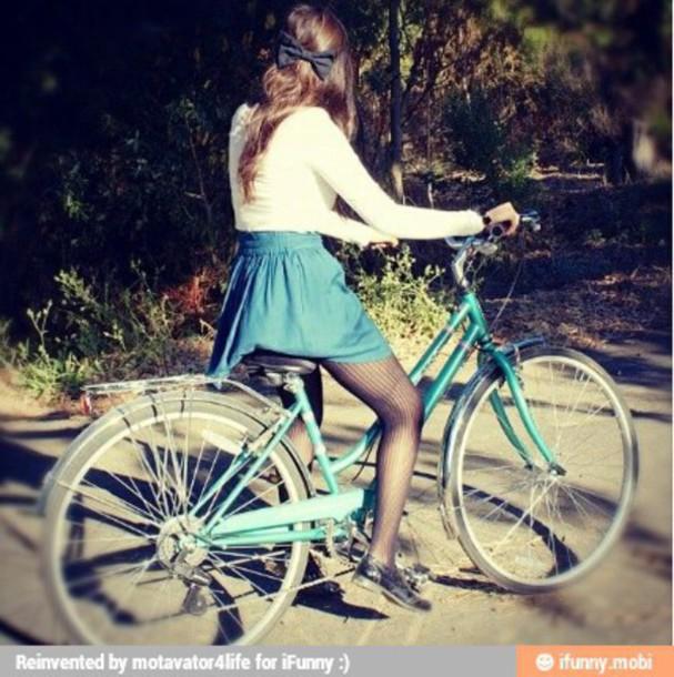 skirt skater skirt girly bike