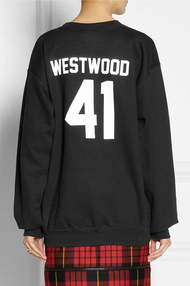 LPD New York Team Westwood printed cotton-blend sweatshirt  NET-A-PORTER.COM