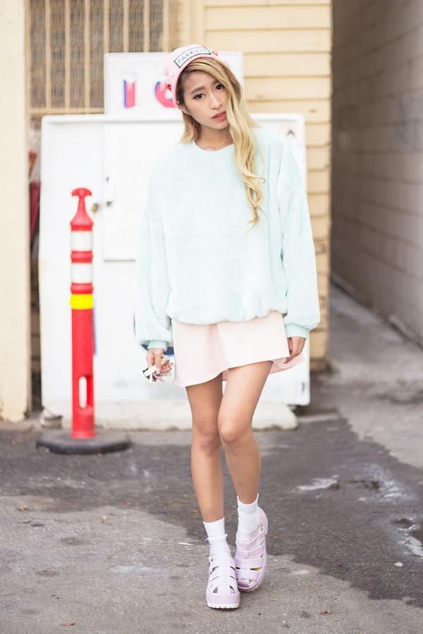 style2bones sweater dress hat sunglasses