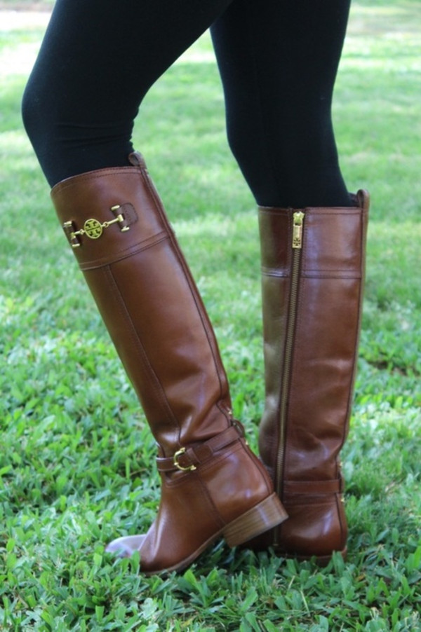 shoes riding boots tory burch cute