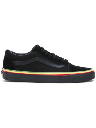 women sneakers lace cotton black shoes