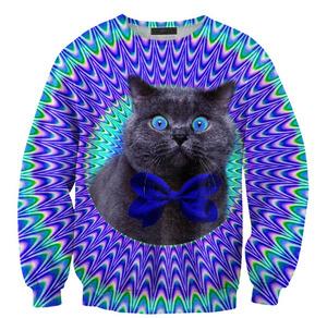 Mr. Gugu & Miss Go — Crazy cat sweater