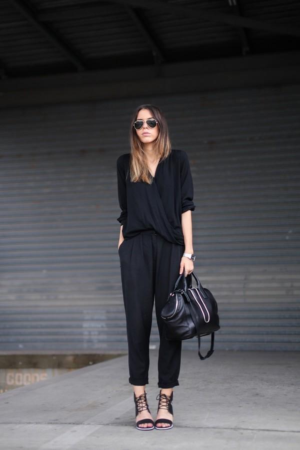modern legacy shirt pants shoes bag sunglasses