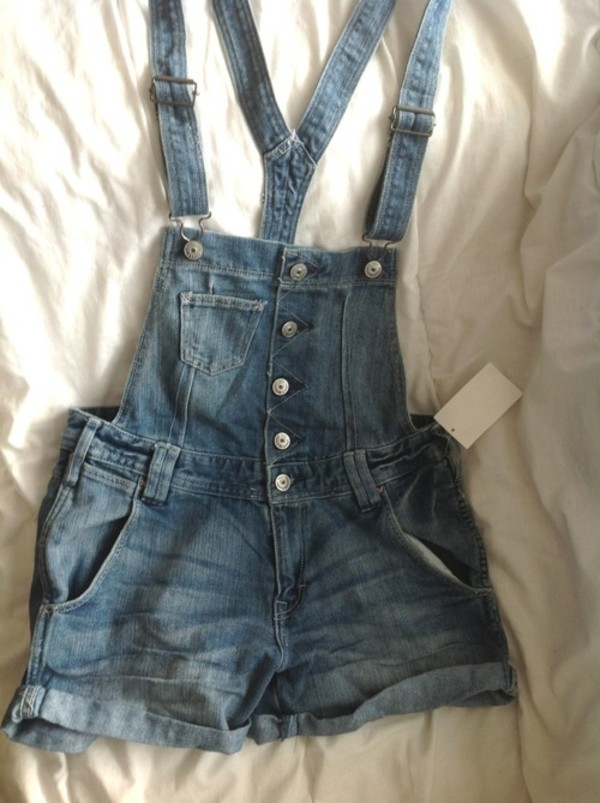shorts overalls denim tumblr jeans dungarees denim dungarees blue denim overalls tumblr clothes pants these overalls