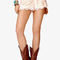Prairie doll lace shorts | forever 21 - 2038551724