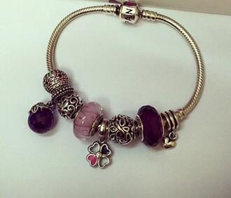 jewels pandora clover