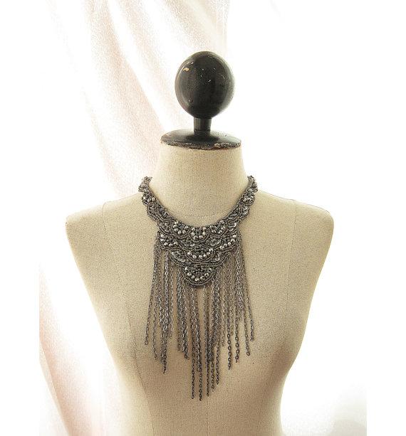 Great Gatsby Wedding Bohemian Steampunk Silver by RiverOfRomansk