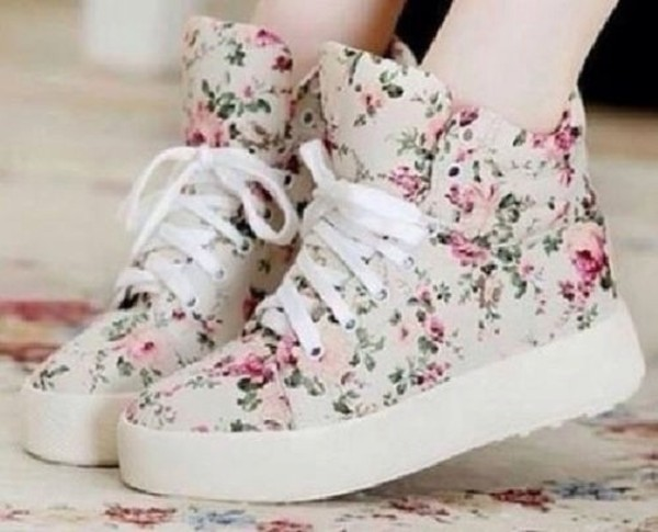 shoes floral weheartit cute pretty flowers floral shoes