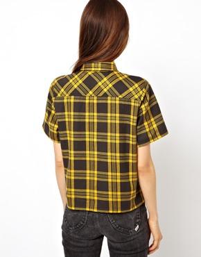 ASOS   ASOS Shirt in Bright Check at ASOS