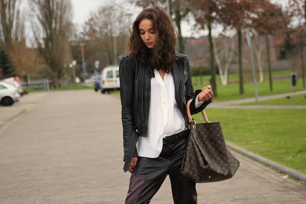 mode d'amour jacket blouse pants shoes bag