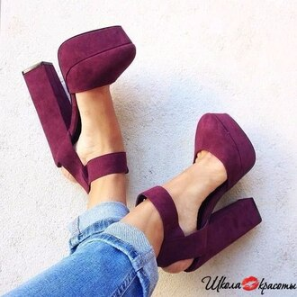shoes wine-red cute platforms red high heels ankle strap heels beautiful shoes sexy heels burgundy shoes steve madden