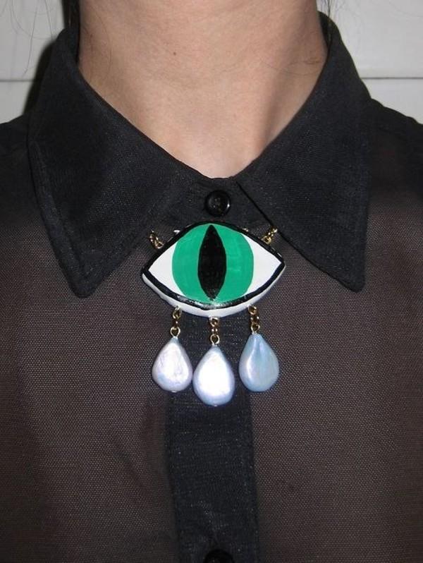 jewels necklace jewelry cat eye