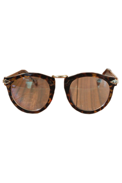 ROMWE | Leopard Printed Frames Sunglasses, The Latest Street Fashion
